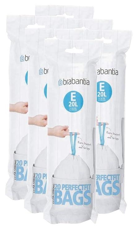 Brabantia PerfectFit e 20 litros bolsa de basura ~ 20 ct ...
