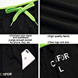 CENFOR Men's Sweatpant with Pockets Open Bottom