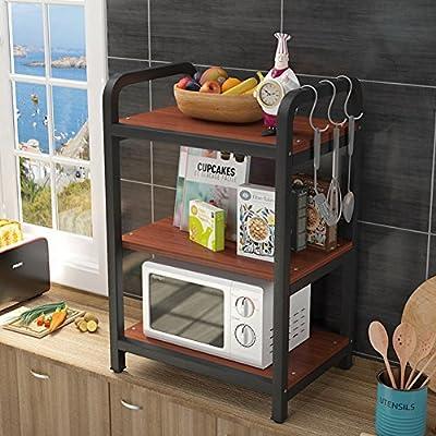 MDBYMX Horno microondas Estante de Cocina, Horno de microondas ...