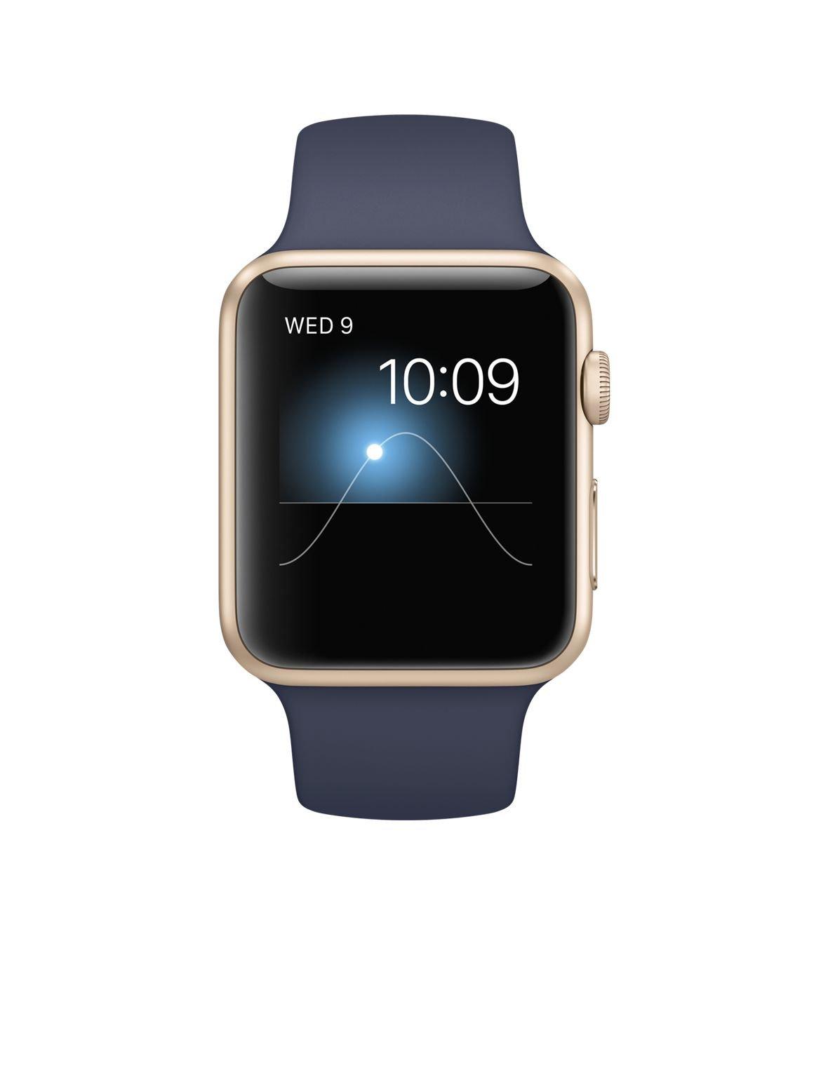Apple 42mm Smart Watch - Aluminum Case/Midnight Blue Sport Band
