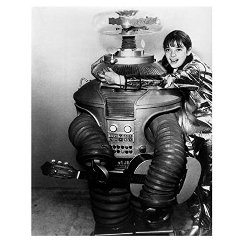 Lost in Space (1965) 8 x 10 Photo Angela Cartwright Hugging Robot...