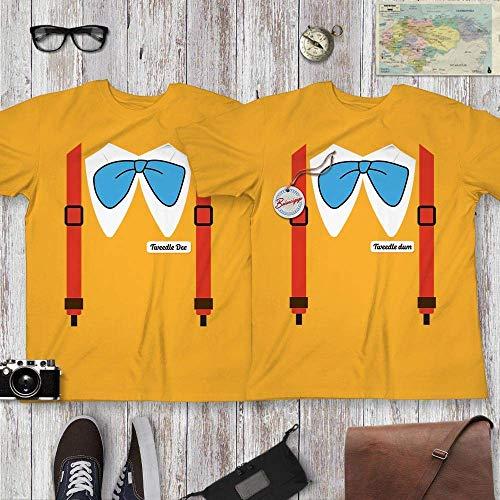 Tweedle Dum Dee Funny Matching Twins BFF Couple Halloween Costume Tweedle-Twins Shirt Customized Handmade Hoodie/Sweater/Long Sleeve/Tank Top/Premium T-shirt -