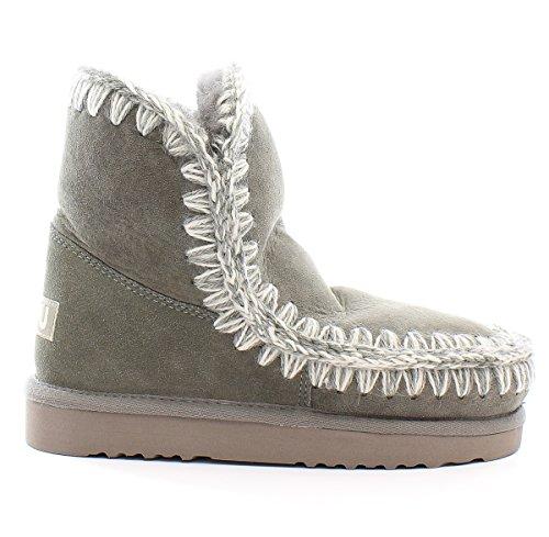 MOU New bota Mou para 18 Grey Eskimo New mujer Grey BwrnqBAv4T