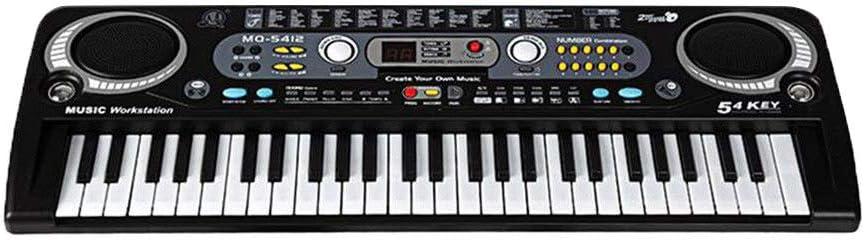 SHMDSQ 54 Teclas Piano electrónico electrónico Digital con ...
