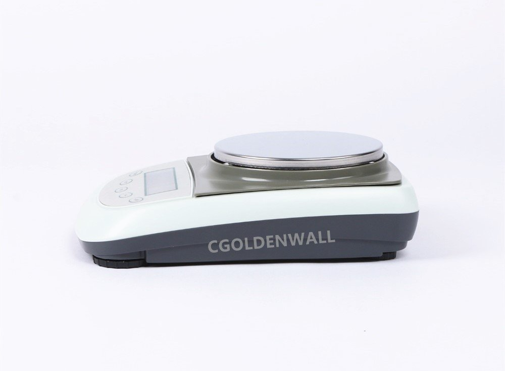 200g,0.1g CGOLDENWALL TDA1 Series Precision Digital Gram Scale Balance Lab Sensitive Weighing Scales Electronic Analytical Balance LCD Battery Precision Weight 0.1g 110V//220-240V AC CE