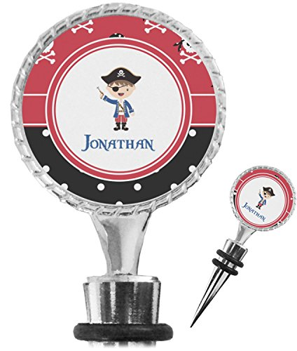 Amazon.com: Pirate & Dots Wine Bottle Stopper (Personalized): Kitchen & Dining