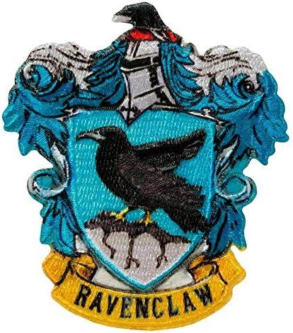 Mono Quick Harry Potter Hogwarts Applikationen Bügelbild Aufkleber Patch Gryffindor Slytherin Hufflepuff Ravenclaw 18067 Ravenclaw