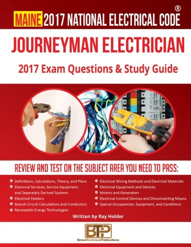 Maine 2017 Journeyman Electrician Study Guide