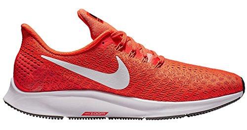Nike Men's Air Zoom Pegasus 35 Running Shoe Orange/White/Black by Nike (Image #4)