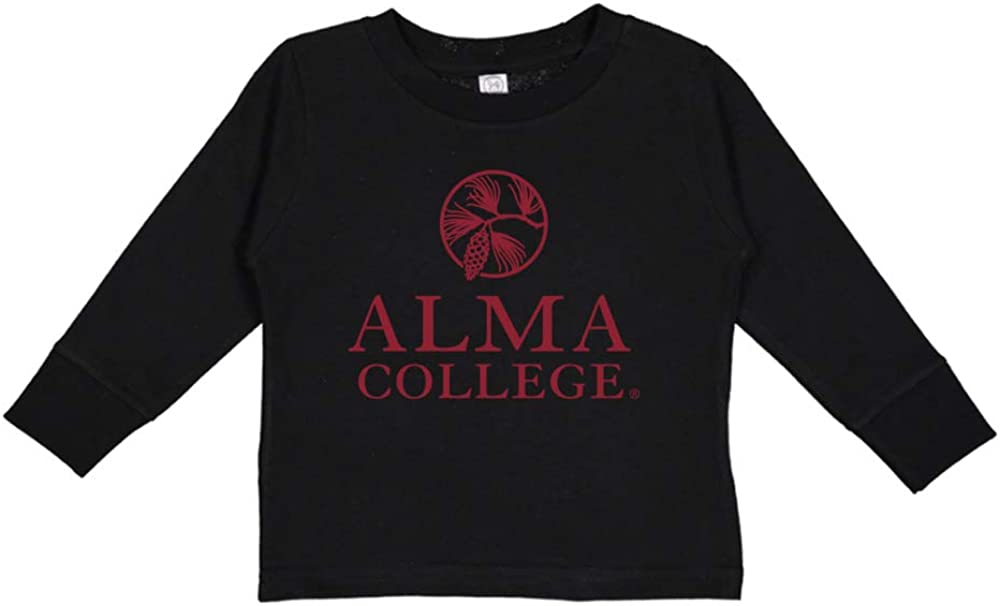 NCAA Alma College Scots PPAAC02 Toddler Long-Sleeve T-Shirt