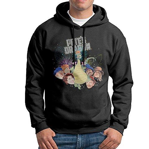 Price comparison product image Pete's Dragon Sweatshirts For Men Size L Black