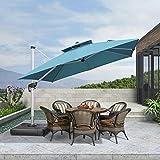 PURPLE LEAF 10ft Patio Umbrella Outdoor Square