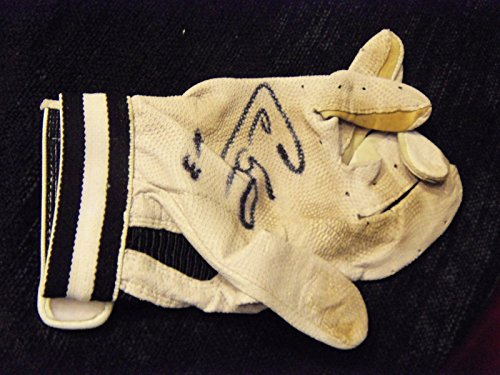 A 2003 Baseball Glove - CARLOS LEE Game Used/ Signed HR.#3 2003 Baseball Batting Glove -Clubhouse Collectibles Auth.#10092