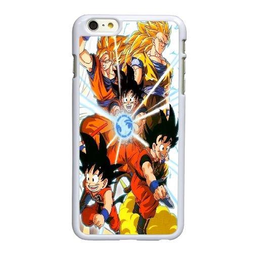 X2S51 Goku Métamorphose M8R1PB coque iPhone 6 4.7 pouces Cas de couverture de téléphone portable coque blanche KQ6TXW2OQ