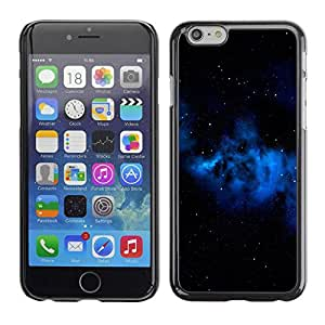 Slim Design Hard PC/Aluminum Shell Case Cover for Apple Iphone 6 Space Planet Galaxy Stars 67 / JUSTGO PHONE PROTECTOR
