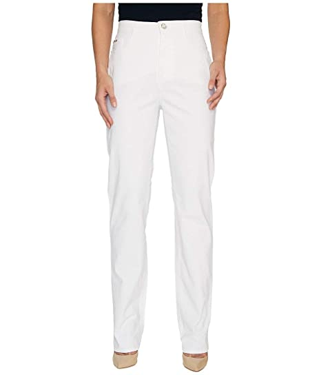 87b498d18dd FDJ French Dressing Jeans Women s Sedona Suzanne Straight Leg in White  White Jeans at Amazon Women s Jeans store