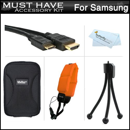 Must Have Accessory Kit For Samsung HMX-W200 Waterproof HD P