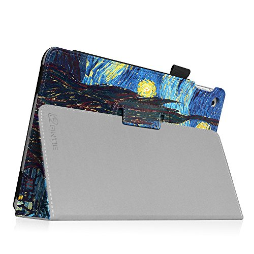 Fintie iPad mini 1/2/3 Case - Folio Slim Fit Stand Case with Smart Cover Auto Sleep / Wake Feature for Apple iPad mini 1 / iPad mini 2 / iPad mini 3, Starry Night Photo #3