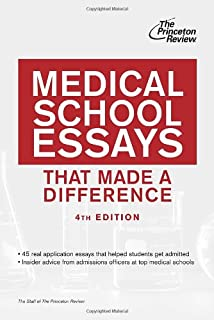 medical school essays that made a difference th edition medical school essays that made a difference 4th edition graduate school admissions guides