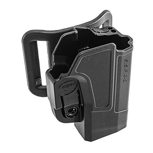 Orpaz S&W M&P Gun Belt Holster Polymer 360 Rotation with Tension Adjustment Screw