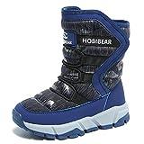 GUBARUN Boys Snow Boots Kids Outdoor Warm Shoes