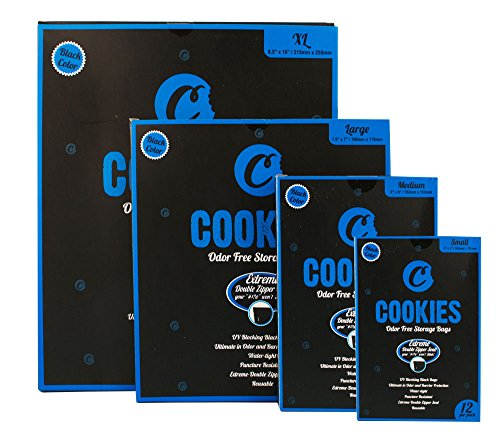 Cookies SF Odor Free Bags - Assorted Sizes (Small)