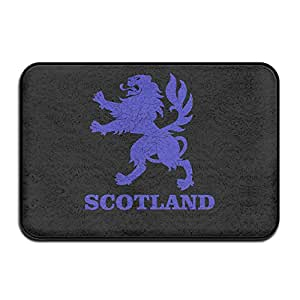 Escocia León Rampant Felpudo y perro alfombrilla, 40cm60cm Doormats antideslizante, apto para uso en interiores y exteriores. Baño Cocina felpudo y mascotas