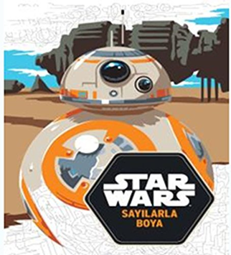 Starwars Sayilarla Boyama Jeremy Mariez 9786050946994 Amazon