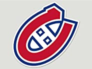 Wincraft NHL Montreal Canadiens 89998010 Perfect Cut Color Decal, 8-Inchx8-Inch, Black