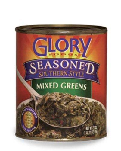Glory Foods Greens Mixed Seasoned