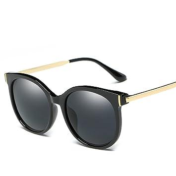 Mode-Trend, Dass Große Rahmen Retro-Sonnenbrille , Echt Weiß / Hell Schwarz
