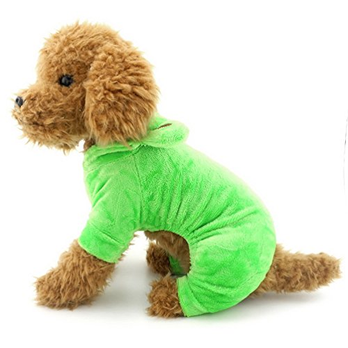 SELMAI Frog Dog Halloween Costumes Hoodie Pet Sweatshirts Fleece Dog Coat Pajamas Party Xmas Holiday Puppy Cat Doggie Chihuahua Clothes Outfits Apparel XL