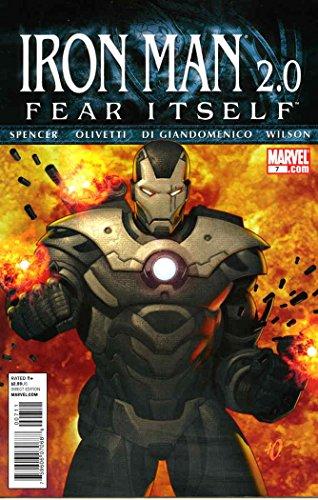Carmine Iron - Iron Man 2.0 #7 FN ; Marvel comic book
