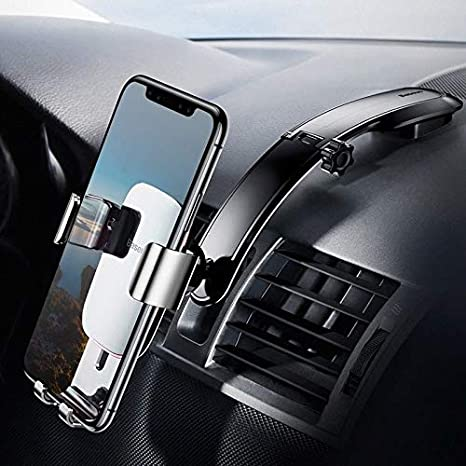 Metal Age Connecting Gravity Center Console Compatible with iPhone Xs//XS MAX//8//8Plus//7//7Plus//6s//6Plus//5S Galaxy S5//S6//S7//S8 Baseus Car Phone Mount LG Huawei and More SUYL-F01 Google Nexus