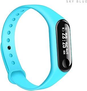 Bescitas M3M, Bracelets, Smart Bracelet Bracelet Bracelet Bracelet de Sport Fitness Activity Tracker Podomètre Montre Montre à Podomètre, OLED, 87'