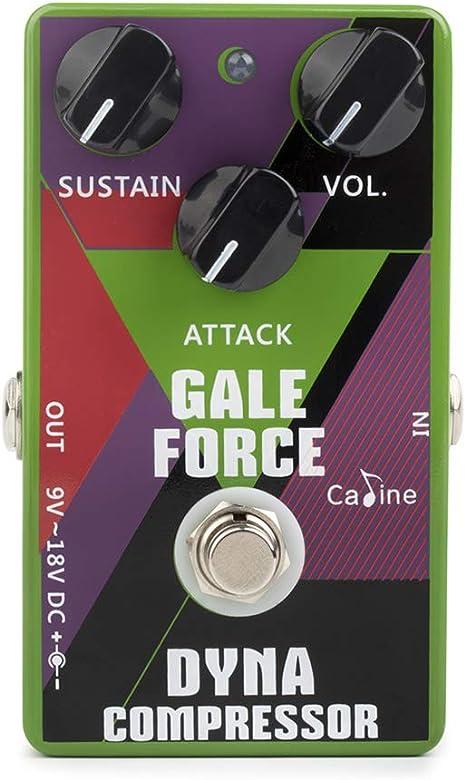 Festnight Guitarra Compress Efecto Pedale con Cable de Batería ...
