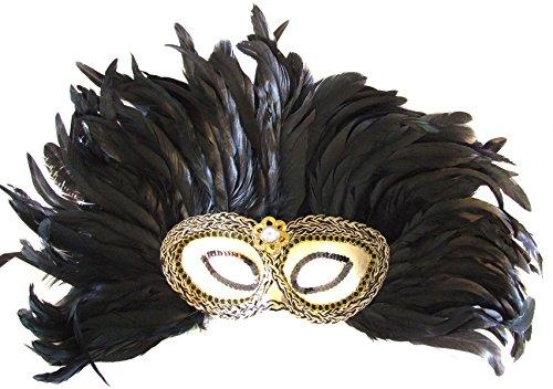 [Venetian Mask Mardi Gras Queen Cleopatra Elaborate Halloween] (Cleopatra Outfit)