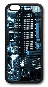 City Lights11 Custom iphone 6 plus 5.5 inch Case Cover TPU Black