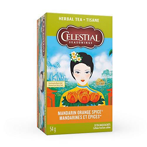 Celestial Seasonings Herb Tea Mandarin Orange Spice, 20-count (Pack of 6)