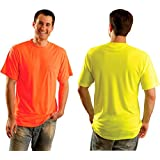 Classic Wicking T-Shirt - Hi-Viz Safety Shirt - Perfect for work or play - 5X-YELLOW-