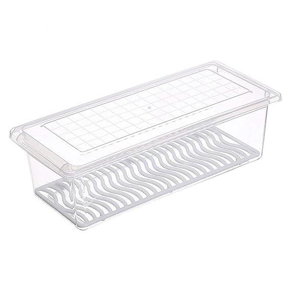 YOMRIC Refrigerador Caja de almacenamiento, Cocina Cuadrado ...
