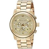 Reloj Chronograph para hombres Michael Kors MK8077, Estándar, Dorado