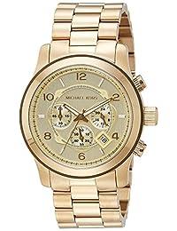 Michael Kors Men's MK8077 Runway Gold-Tone Watch