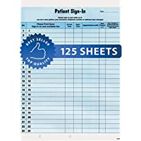 Tabbies Patient Sign-in Label Forms, 8-1/2