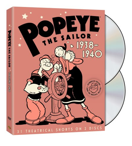 Popeye the Sailor: 1938-1940: The Complete Second Volume by Warner Home Video