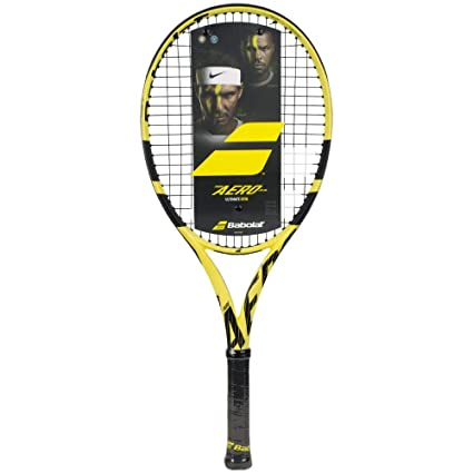 "Babolat Pure Aero Junior 26"" Performance Tennis Racquet (4"" Grip) Strung with"
