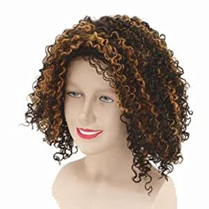 SPICE Girls Mel B Fancy Dress Wig Inc FREE Wig Cap (peluca)