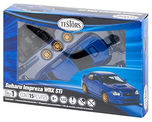 Testors Subaru Impreza Wrx Car  1 32 Scale
