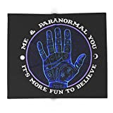 Society6 Me & Paranormal You - James Roper Design - Palmistry (white Lettering) 88'' x 104'' Blanket