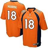 Nike Denver Broncos Peyton Manning Jersey (Brilliant Orange)